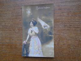 """Silhouette Ou Portrait De Femme """""""" étoile Du Bonheur """""""" - Silhouettes"""