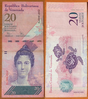 Venezuela 20 Bolivares 2009 Replacement - Venezuela