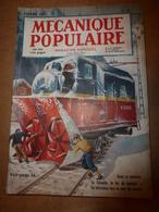 1952 MÉCANIQUE POPULAIRE:La Taconite Sera Le Fer De Demain;Les Couverts En Bois;Le Canada Lutte Contre La Neige; Etc - Wissenschaft & Technik