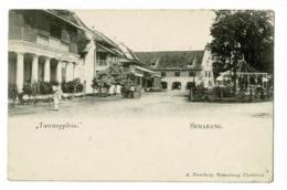 "Semarang  - Hôtel ""Tawangplein"" Animation, Pergola/kiosque - Pas Circulé, Carte Précurseur - Indonésie"