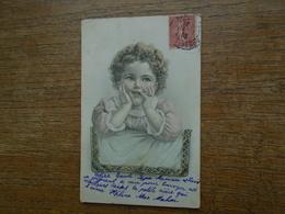 """Carte Assez Rare De 1905 , Enfant """""""" Carte écrite Par Hélène Mac Mahon !!!!! """""""" - Portraits"""