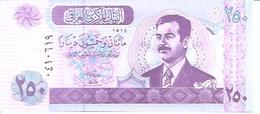 Iraq  P-88  250 Dinars   2002  UNC - Iraq