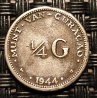 Curaçao - 1/4 Gulden 1944 - Curacao
