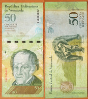 Venezuela 50 Bolivares 2011 Replacement (2) - Venezuela