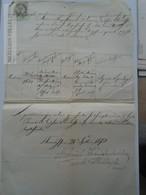 ZA155.23 Old Document  SLOVAKIA  - Turdossin Tvrdošín - 1870 Andreas Medveczky  Kukla - Naissance & Baptême