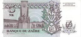 ZAIRE P. 48a 5 M 1993 UNC - Zaïre