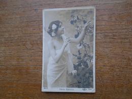 Carte Assez Rare De 1905 , Désir Frivole - Silhouettes
