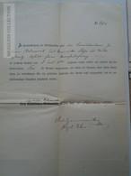 ZA155.24  Old Document  Czechia - BRÜNN  BRNO - Bednarik 1870 - Announcements