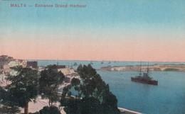 MALTA. ENTRACE GRAND HARBOUR. VISTATO. CIRCA 1910s - BLEUP - Malta