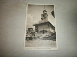 Carte Ancienne SALVAGNY Chapelle - France