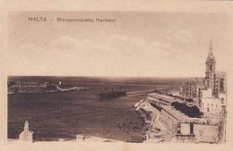 MALTA. MARSAMUSCETTO HARBOUR. ED F W GRECH E C. CIRCA 1910s - BLEUP - Malta