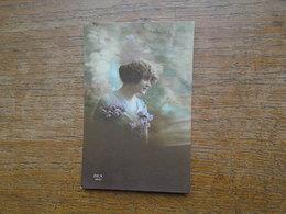 """Silhouette Ou Portrait De Femme """""""" Paire De Timbres Semeuse """""""" - Silhouettes"""