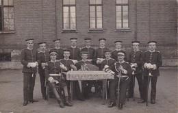 AK Foto Gruppe Deutsche Soldaten Mit Säbeln - Bayern - Photo Müller München-Riesenfeld 1910 (38693) - Guerra 1914-18