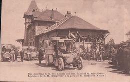 L'arrivée De S.M. L'Empereur à La Gare De St. Hippolyte (Kaiser, Voiture) - Autres Communes