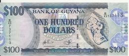 GUYANE 100 DOLLARS ND2012 UNC P 36 B - Guyana