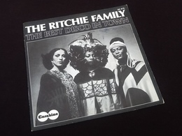 Vinyle 45 Tours The Richie Family  The Best Disco In Town (1976) - Vinyles