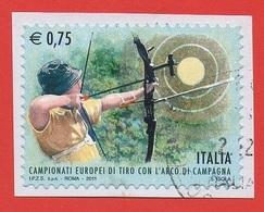 2011 (3267) Campionati Mondiali Tiro Dell'arco Di Campagna - Leggi Il Messaggio Del Venditore - 6. 1946-.. Repubblica