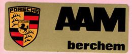 Sticker - PORSCHE STUTTGART - AAM Berchem - Autocollants