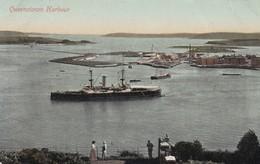 QUEENSTOWN. HARBOUR. VALENTINE'S SERIES. NON CIRCULEE. CIRCA 1910s. IRELAND- BLEUP - Cork