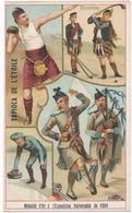 Chromo ECOSSE  Tapioca De L' étoile Médaille D'or à L'exposition Universelle De 1889 Paris écossais Jeux Musique - Autres