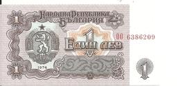 BULGARIE 1 LEV 1974 UNC P 93 - Bulgarie