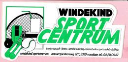 Sticker - Windekind Sportcentrum Antwerpsesteenweg Vosselaar - Autocollants