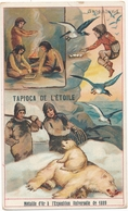 Chromo GROENLAND  Tapioca De L' étoile Médaille D'or à L'exposition Universelle De 1889 Paris Chasse à Ours Jeu Domino - Autres