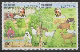 1988 OMAN 311-12** Agriculture, élevage - Oman