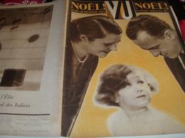 VU 29 /NOEL /VEDETTES EN CARTES POSTALES/ CURNONSKY /BUGATTI / AUTOMATES - Books, Magazines, Comics