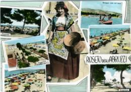 ROSETO DEGLI ABRUZZI  TERAMO  Vedutine  Panorami Mare Spiaggia  Costumi Tipici - Teramo
