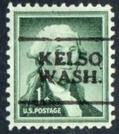 "USA Precancel Vorausentwertung Preo, Locals ""KELSO "" (WASH). - Stati Uniti"