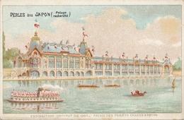 Chromo Potage Les Perles Du Japon A Chapu Exposition Universelle De 1900 Paris Palais Des Forêts Chasse & Pêche - Autres