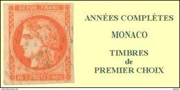 Monaco, Année Complète 2016, N° 3010 à N° 3061** Y Et T - Monaco