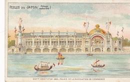Chromo Potage Les Perles Du Japon A Chapu Exposition Universelle De 1900 Paris Palais De La Navigation De Commerce - Autres