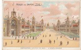 Chromo Potage Les Perles Du Japon A Chapu Exposition Universelle De 1900 Paris L' Esplanade - Autres