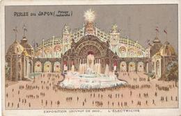 Chromo Potage Les Perles Du Japon A Chapu Exposition Universelle De 1900 Paris Pavillon L' électricité - Autres