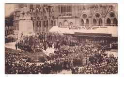 Guerre 1914 1918 Hommage De La Belgique Au Soldat Français Inconnu Bruxelles 17 Juillet 1927 - Guerre 1914-18