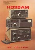 Amateur Radio Equipment, Switzerland QSL, C1970s Vintage Postcard - Radio Amateur