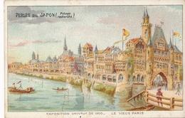 Chromo Potage Les Perles Du Japon A Chapu Exposition Universelle De 1900 Paris Le Vieux Paris - Autres
