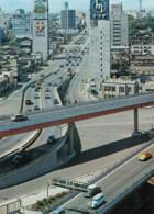 Tokyo Japan, Highway At Akasaka Mitsuke, Tokyo Traffic Scene, C1960s/70s Vintage Postcard - Tokio