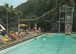 Miyanoshita Hakone Japan, Fujiya Hotel Resort Swimming Pool, C1970s Vintage Postcard - Japan