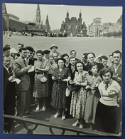 1954 Photo, Albanian Communistic Delegation In Moscow, Russia, USSR, CCCP, Shkodra, Scutari, Albania, Tirana - Personnes Anonymes