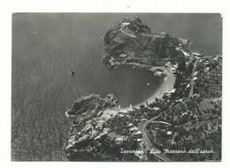 CARTOLINA POSTALE MESSINA - TAORMINA LIDO MAZZARO' DALL'AEREO VG 1958 - Messina
