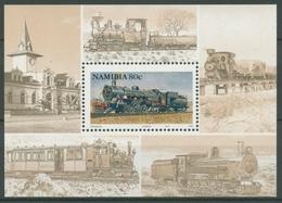 Namibia 1994 Eisenbahn Züge Lokomotiven Block 20 Postfrisch (C25046) - Namibie (1990- ...)