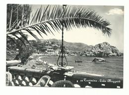 CARTOLINA POSTALE MESSINA - TAORMINA LIDO MAZZARO' VG 1958 - Messina