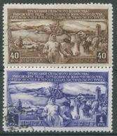 Sowjetunion 1949 Dreijahresplan Für Die Viehzucht 1399/00 Gestempelt - 1923-1991 URSS