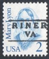"USA Precancel Vorausentwertung Preo, Locals ""RINER"" (VA). - Stati Uniti"