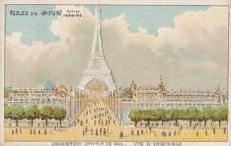 Chromo Potage Les Perles Du Japon A Chapu Exposition Universelle De 1900 Paris Vue D'ensemble - Autres