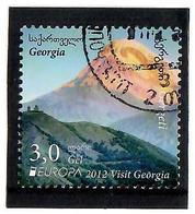 Georgia .2013  EUROPA 2012 (Visit Georgia,Mountains). 1v: 3.0  Used Stamps - Georgien