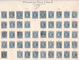 N°29B Superbe Planchage Du  Panneau B3, 142 Positions Sur 150, Très Belles Et Rares Variétés, RRRRR - 1863-1870 Napoléon III. Laure